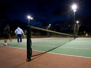 Shooters Hill Lawn Tennis Club offers four all-weather, floodlit macadam courts<empty>